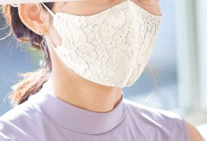オリジナルエレガンスマスク着用イメージ